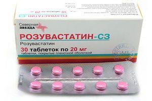 Аналог таблеток Розукард препарат Розувастатин СЗ