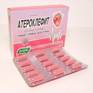 Препарат Атероклефит