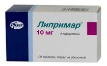 Липримар: инструкция по применению препарата, цена и аналоги